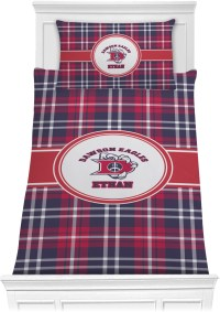 Dawson Eagles Plaid Comforter Set - Twin (Personalized ...