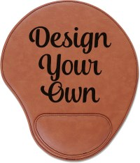 Design Your Own Leatherette Mouse Pad with Wrist Support ...