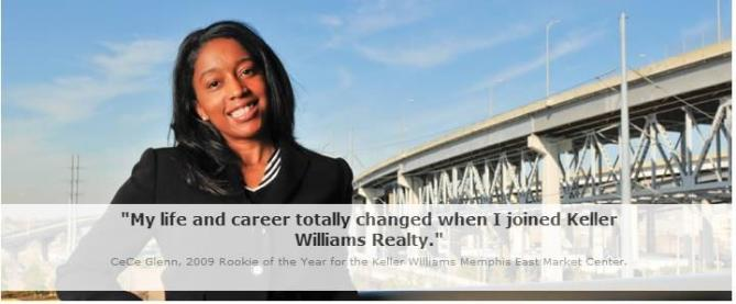 More agents are building successful real estate careers at Keller Williams Realty.