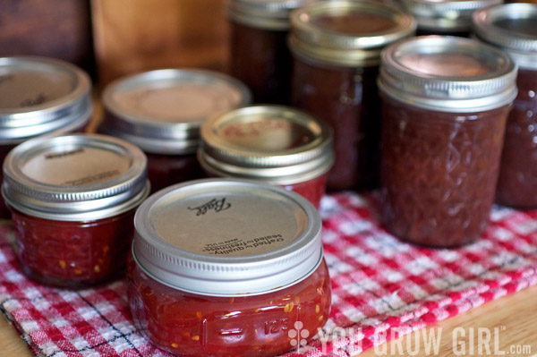 Tomato jam and Apple Butter