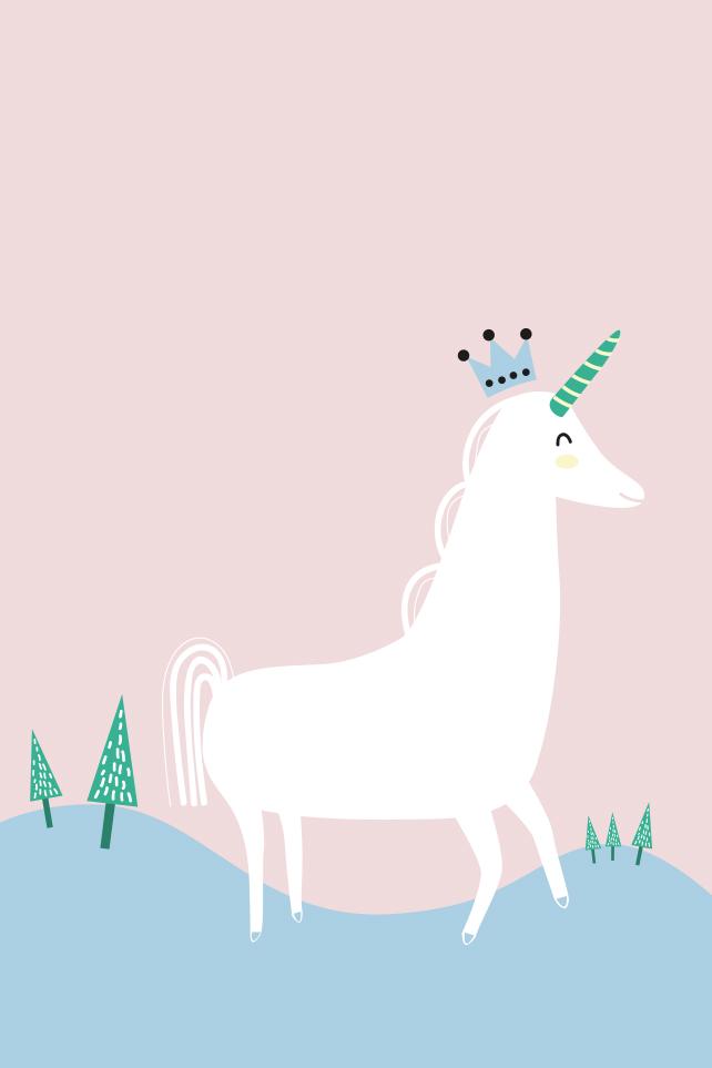 Iphone Wallpaper Cute Cartoon Yvonne La Licorne Chapitre 1