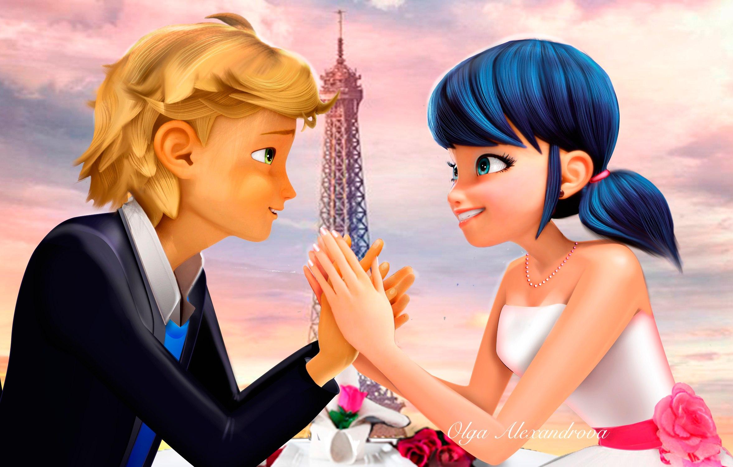 Cute Love Dolls Hd Wallpapers Miraculous Ladybug Romantic Fan Art Youloveit Com