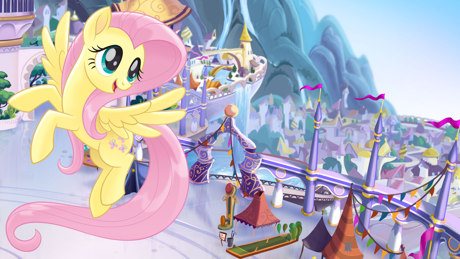 Cute Wallpapers Love Friendship My Little Pony The Movie Wallpapers Youloveit Com