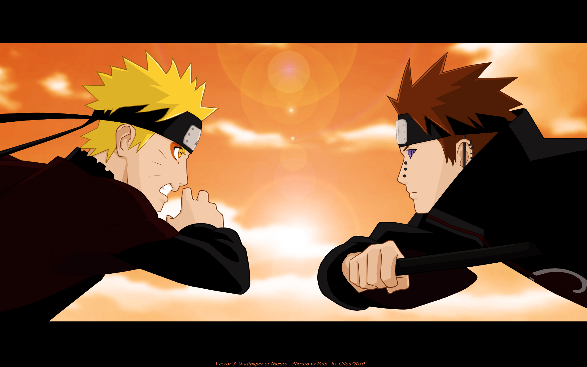 Naruto Hd Wallpaper 1600x900 Наруто против Пейна Наруто Youloveit Ru