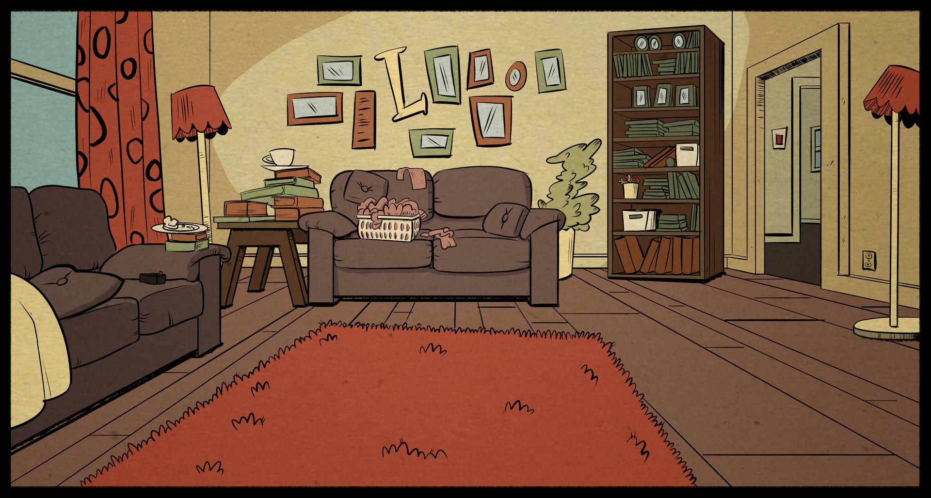 Bipper Gravity Falls Wallpaper Мой шумный дом гостиная Лаудов Мой шумный дом