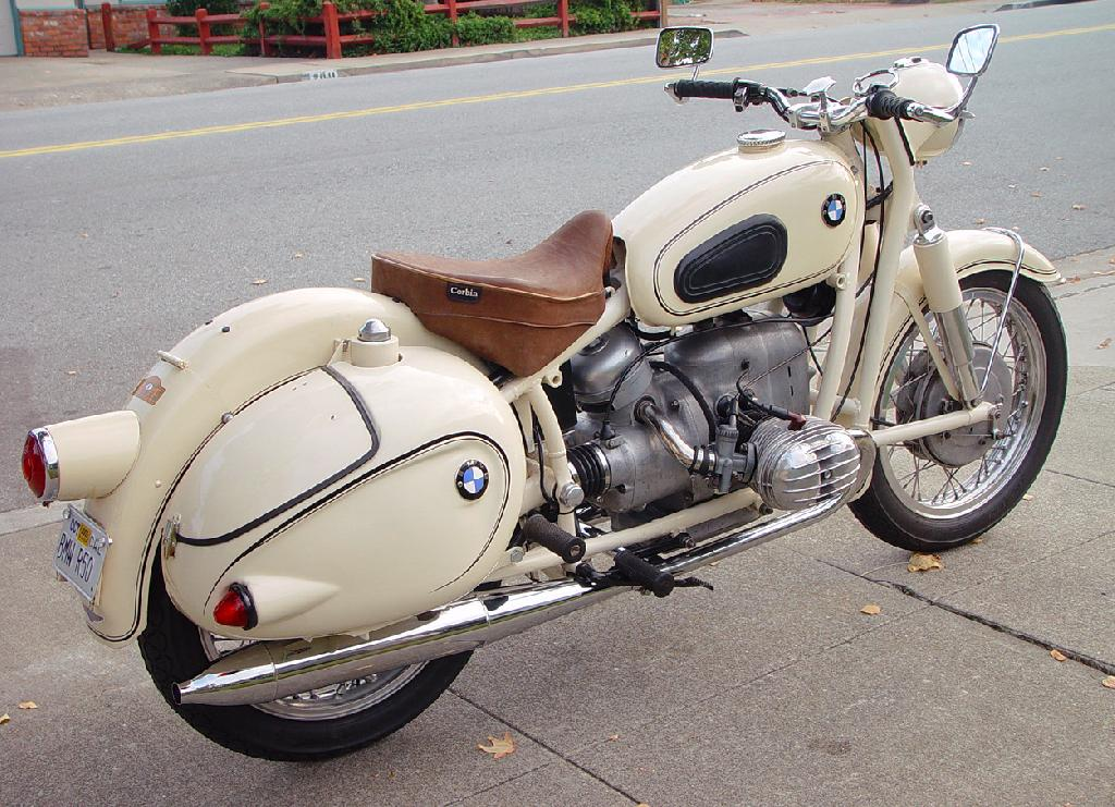1959 BMW R50 I love the retro styling of this older Bimmer The - motorcycle bill of sale