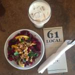 Working meal at 61 Local Love this spot for jamminghellip