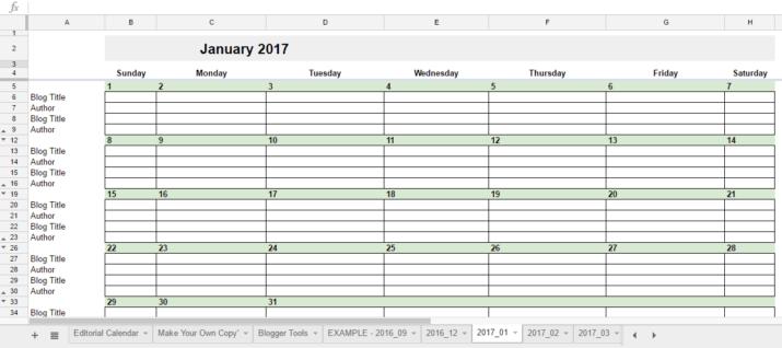 2017 Calendar For Google