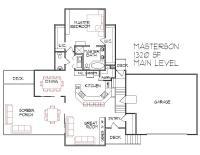 Split Level House Floor Plans Designs Bi Level 1300 Sq Ft