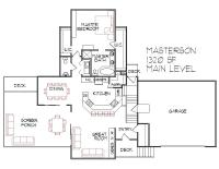 Split Level House Floor Plans Designs Bi Level 1300 Sq Ft ...
