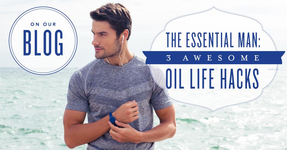 Essential Oils for Men Young Living Essential Oils