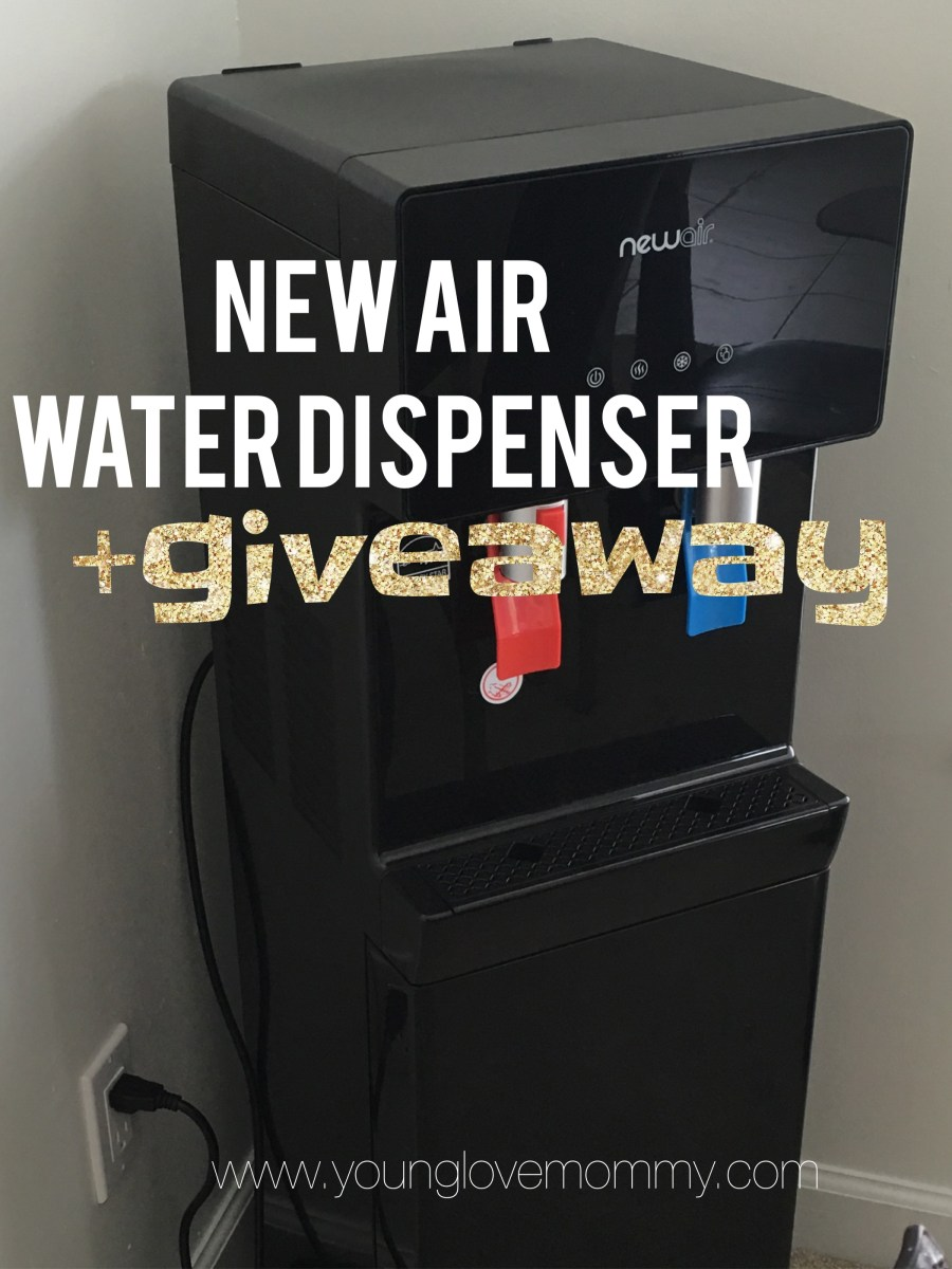 10 Reasons Why I'm loving our New Air Water Dispenser WAT40B - A Review + Giveaway