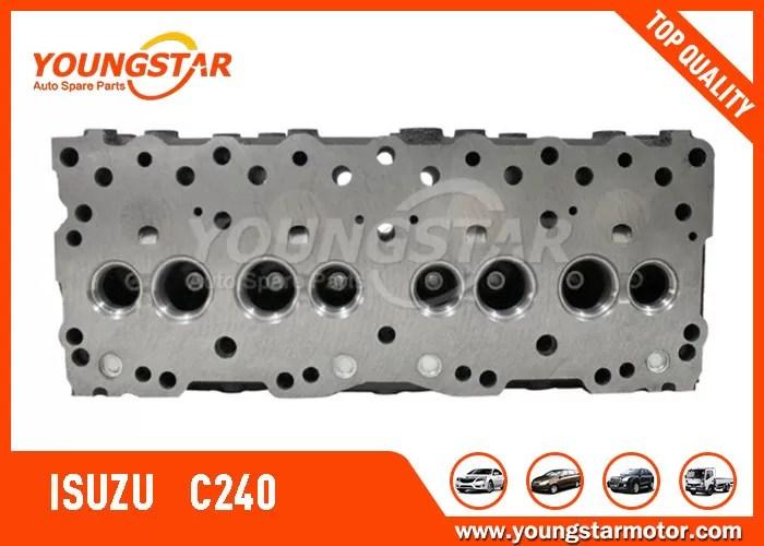 Engine Cylinder Head For ISUZU C240 5-1111-0207-0 Diesel 8V / 4CYL