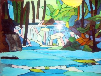 Glass Painting From Exotic Places