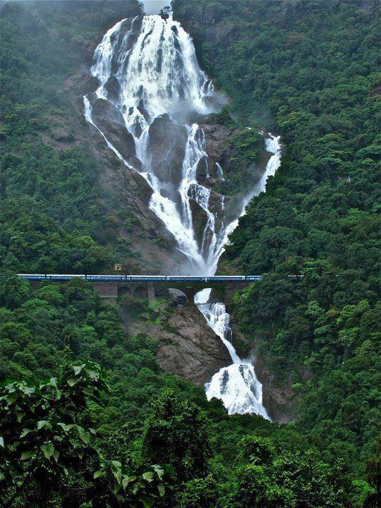 India,Dudhsagar Waterfalls