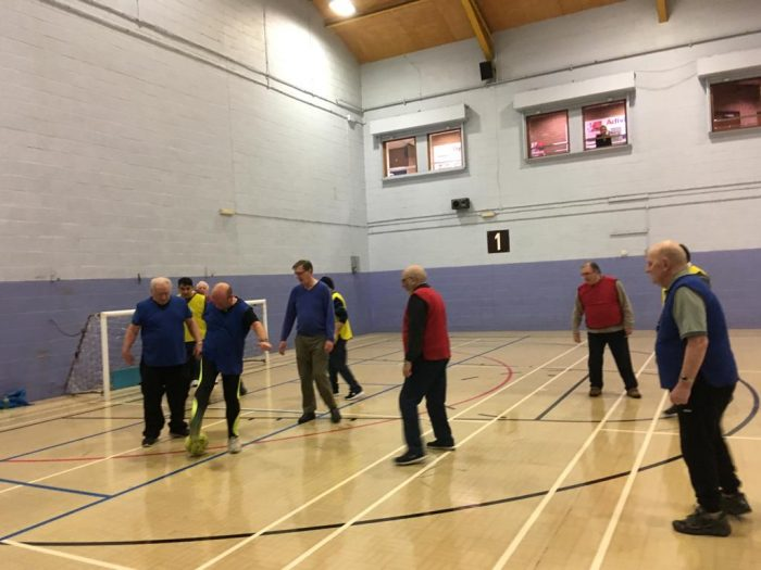 Walking Football Match 8