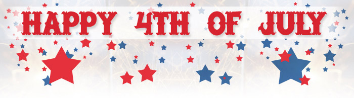 closed for fourth of july sign - Thevillas - 4th of july template