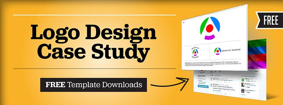 Logo Design Case Study + Free Templates for Designers