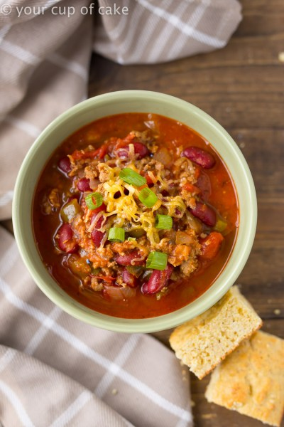 Stupid Good Chili Recipe - Your Cup of Cake