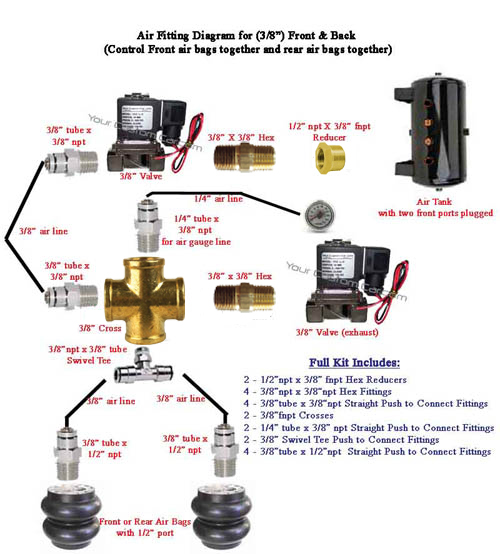 Tractor Air Bag Schematic Wiring Diagram