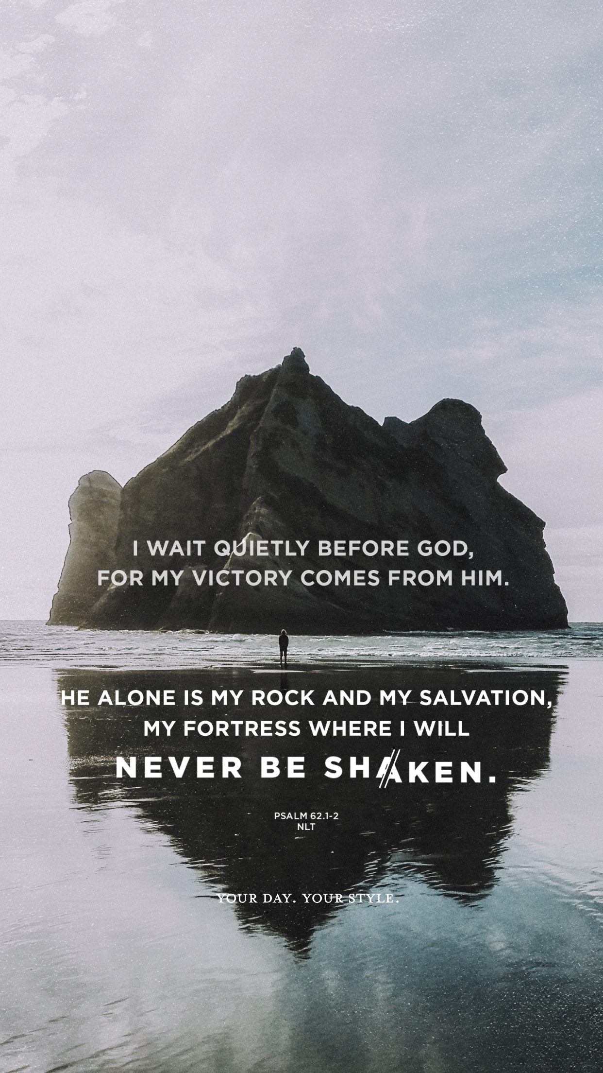 The Thing Iphone Wallpaper Free Screen Wallpaper And Printable Art Of Psalm 62 For