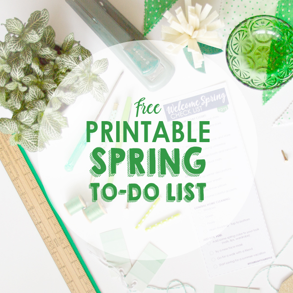 19 Things You CAN Get Done This Spring Spring To Do List