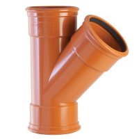 "110mm (4"") Underground Drainage Pipes, Fittings, Junctions ..."