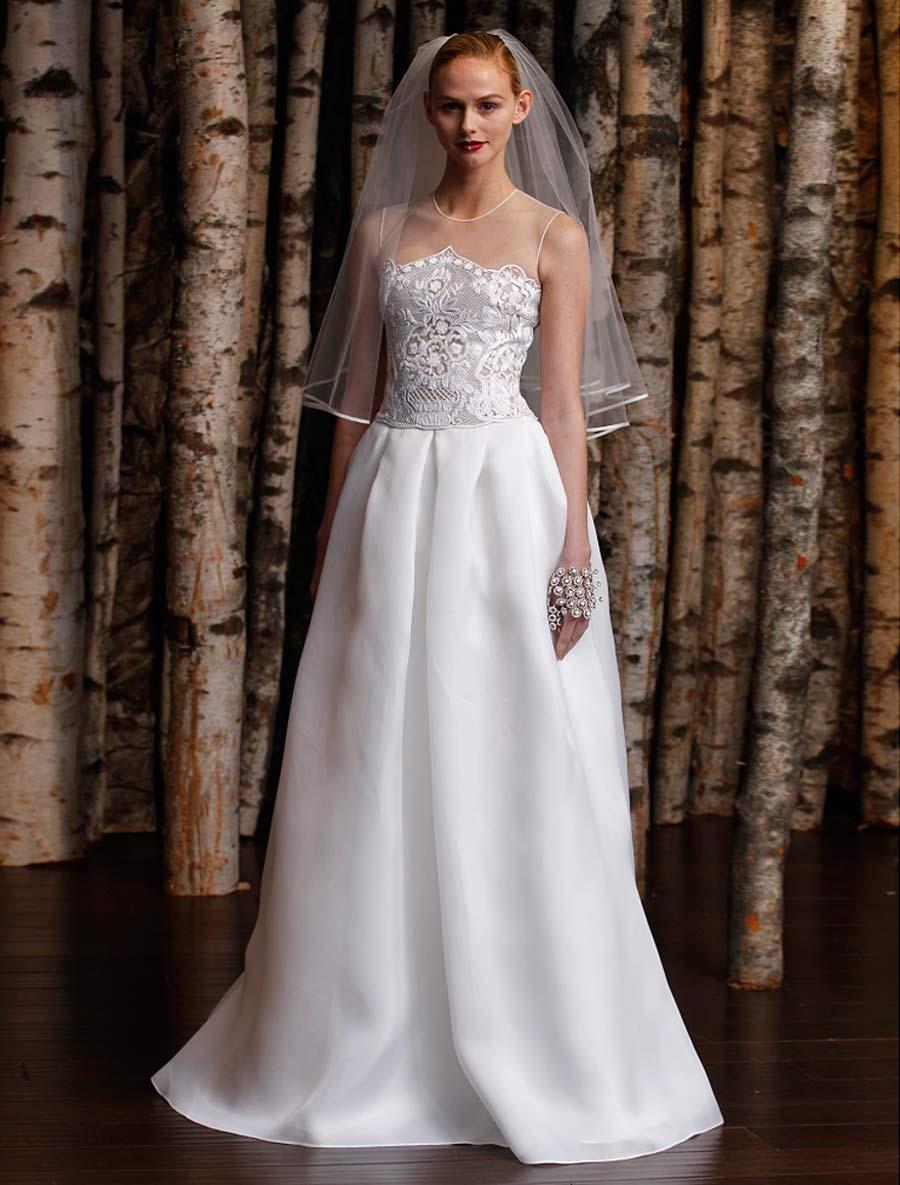 discount naeem khan wedding dress lisbon wedding dress sale Previous Next