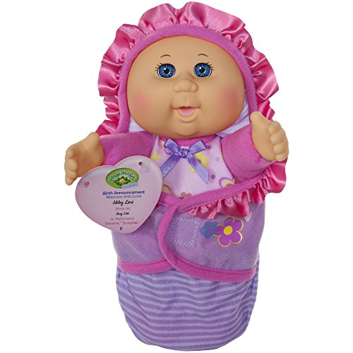 Official Cabbage Patch Kids, Newborn Baby Doll Girl - Comes With