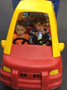 Ode to Grocery Shopping with Toddlers