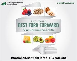 Your Family RD's Tuesday Tip- Put Your Best Fork Forward