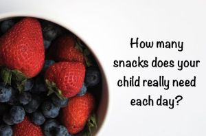 Your Family RD's Tuesday Tip- Snack Schedule