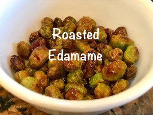 Your Family RD's Tuesday Tip- Roasted Edamame
