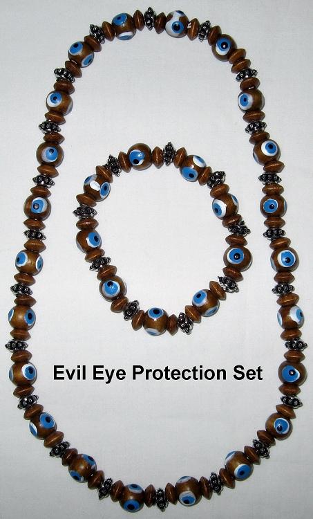 Evil Eye Protection Set Feng Shui