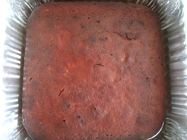 This is a picture of brownies baked in an 8 inch square tin seen on DebbyK website wwww.yourfitday.com