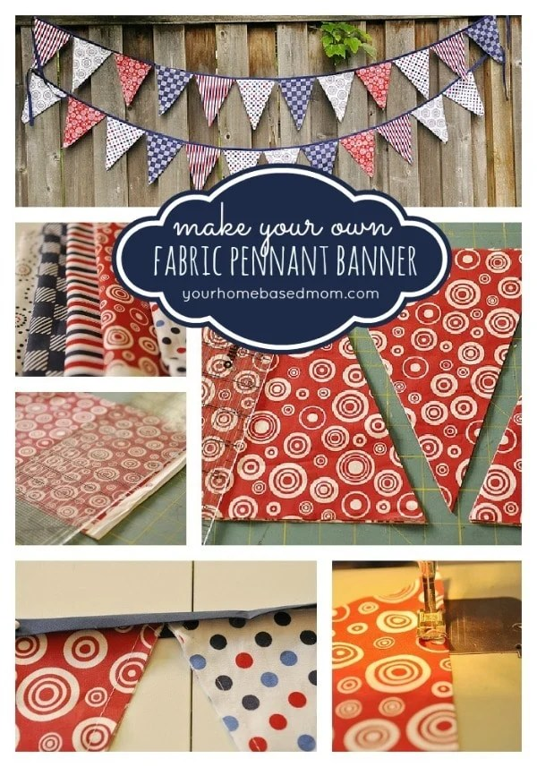 Printable Pennants Patterns towelbars