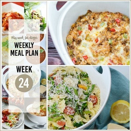 Meal Plans Your Homebased Mom