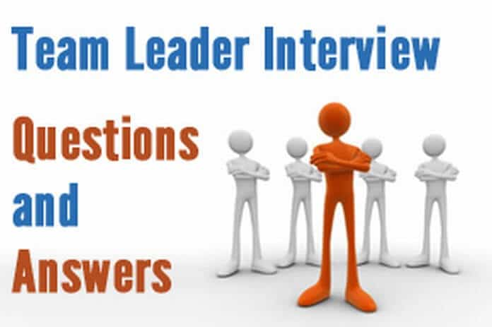 are you a leader interview question - Minimfagency - interview questions for team leader