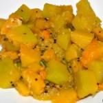Kaddu ki Sabzi /Pumpkin Sabzi /Dudhi Bhaji
