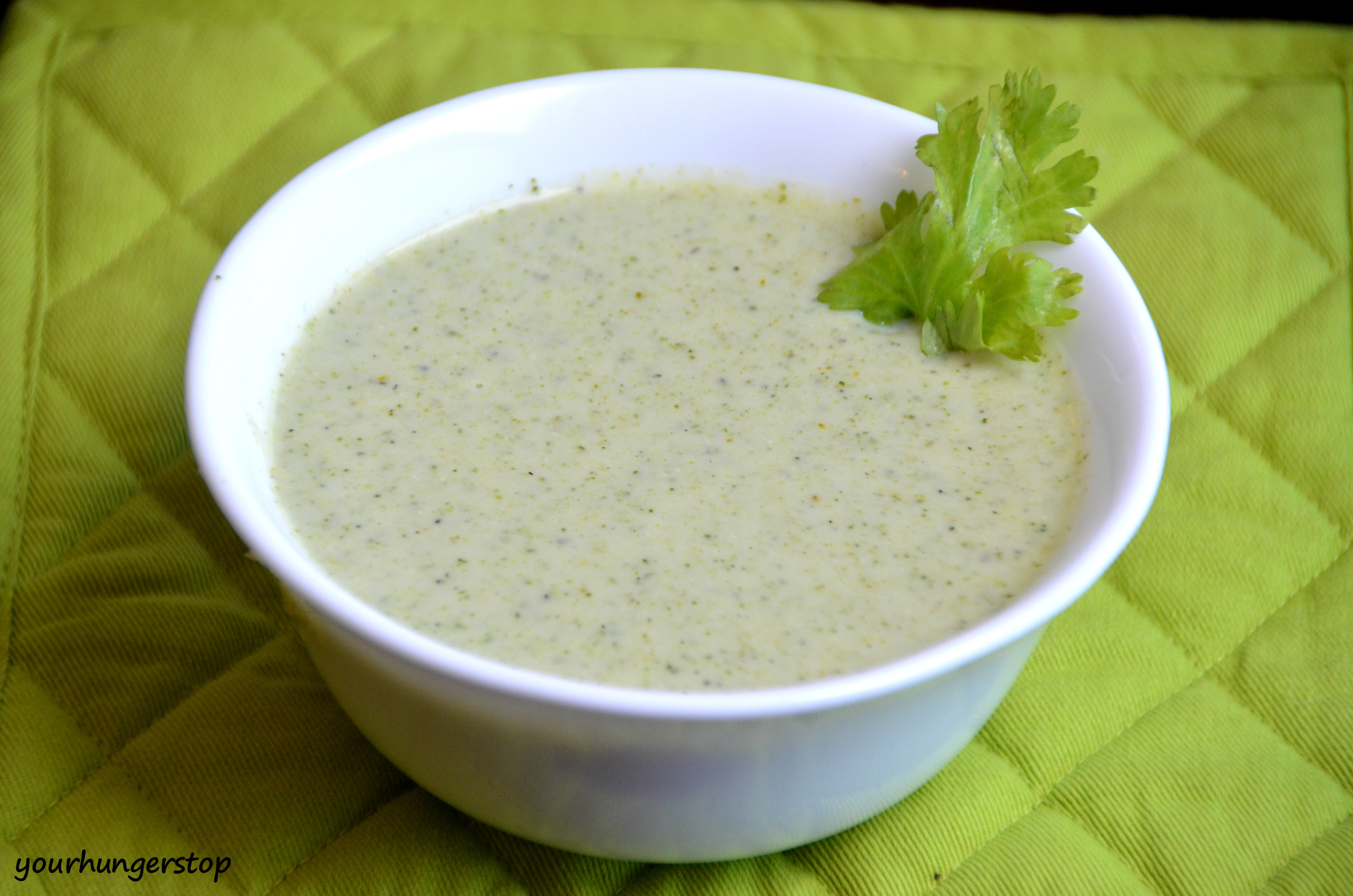 Cream of Broccoli Soup is a very healthy creamy soup which is very ...