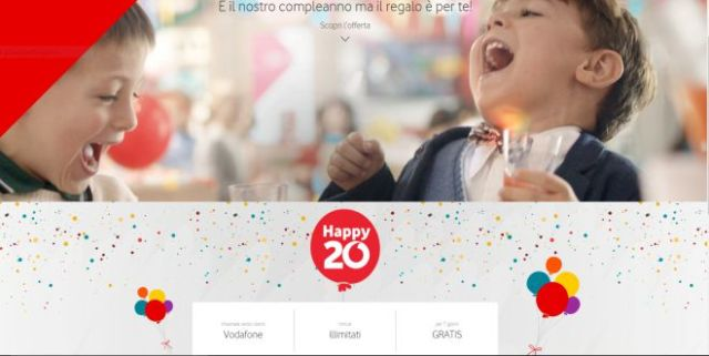 Vodafone Happy20