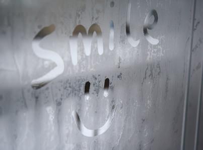 Writing on a window