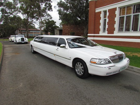 Wedding Limousine at Caversham House