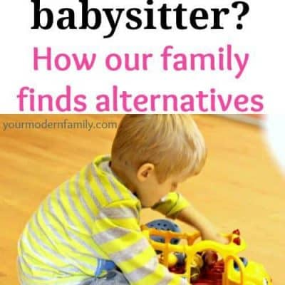 Can\u0027t afford a babysitter - 8 ideas to help!