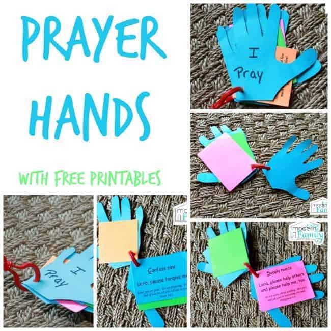 prayer hands for kids