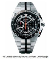 First Automatic Chronograph In Sportura Collection