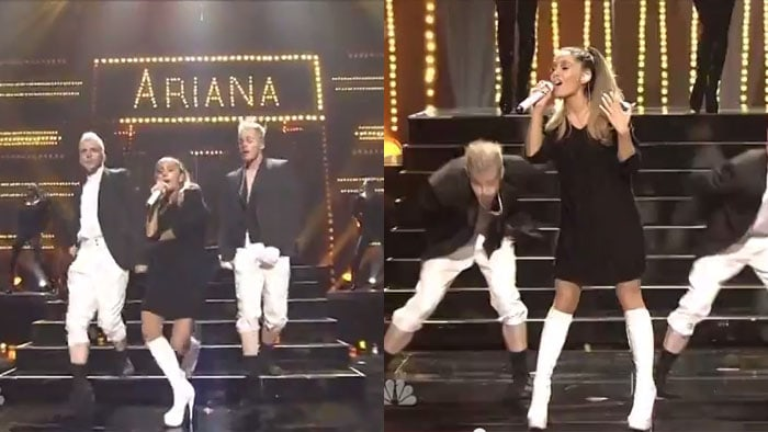 Was Ariana Grande39s Iheartradio Performance Inspired By