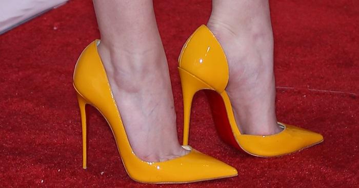 Yellow 39iriza39 Pumps Why Zoe Saldana And Anna Kendrick