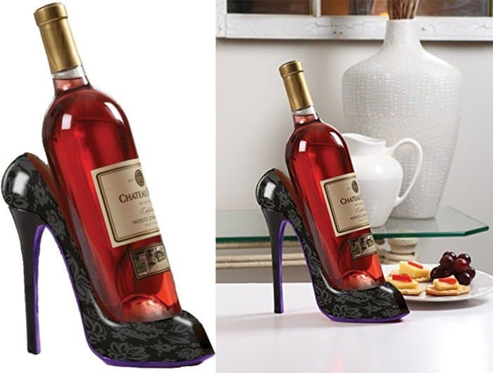 Shoe Wine Bottle Holders 10 Best High Heeled Stands