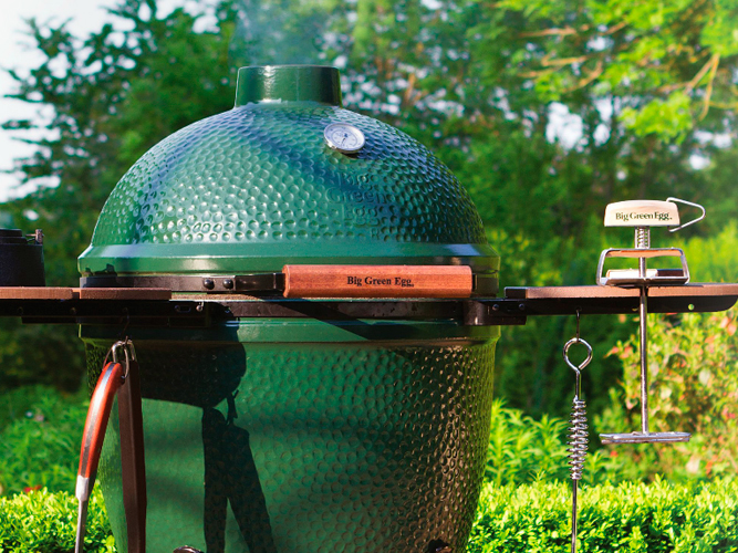 Big Green Egg At The Place